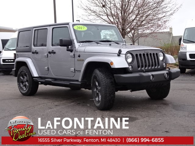Certified Pre Owned 2017 Jeep Wrangler Unlimited Freedom Edition