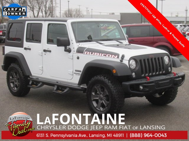 Certified Pre Owned 2017 Jeep Wrangler Unlimited Rubicon