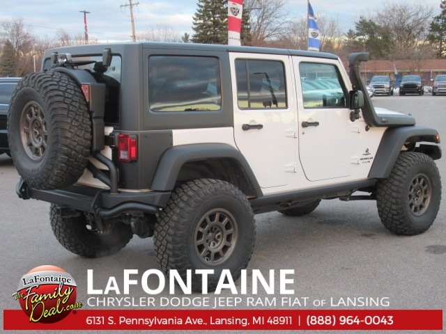 Pre-Owned 2017 Jeep Wrangler Unlimited Rubicon