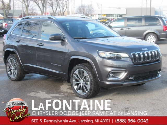 Jeep Cherokee Overland >> New 2019 Jeep Cherokee Overland 4d Sport Utility In 19l0255