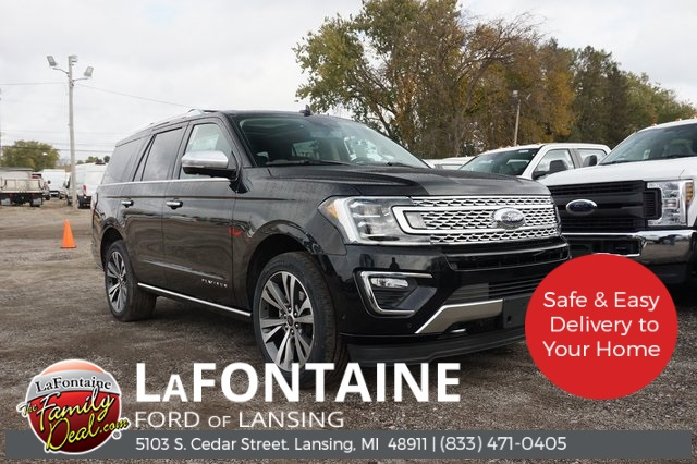 New 2020 Ford Expedition Platinum With Navigation & 4WD