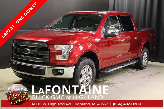 Pre-Owned 2017 Ford F-150 Lariat 4WD SUPERCREW