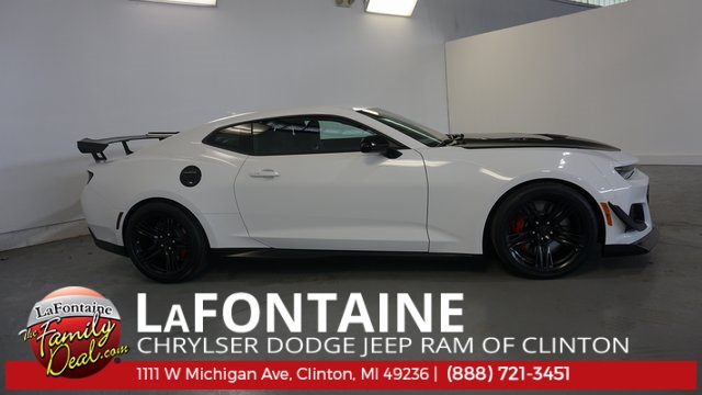 Pre Owned 2018 Chevrolet Camaro Zl1 2d Coupe In 8ns113p