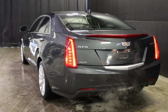 Certified Pre-Owned 2017 Cadillac ATS 2.0L Turbo Luxury AWD