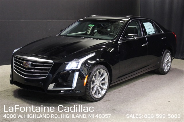 New 2019 Cadillac CTS 2.0L Turbo Luxury AWD