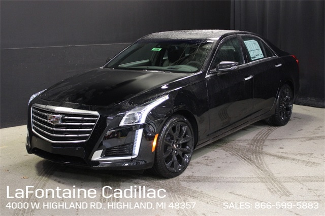 2017 Cadillac Cts 3 6 L Premium Luxury >> New 2019 Cadillac Cts 3 6l Premium 4d Sedan In 19g4238