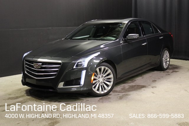 Certified Pre Owned 2016 Cadillac Cts 2 0l Turbo Premium Awd