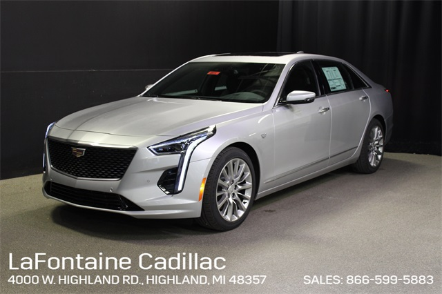 New 2020 Cadillac CT6 3.6L Luxury With Navigation & AWD (Courtesy Transportation Vehicle)