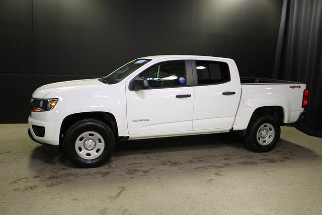 Certified Pre-Owned 2018 Chevrolet Colorado Work Truck CREW CAB 4WD