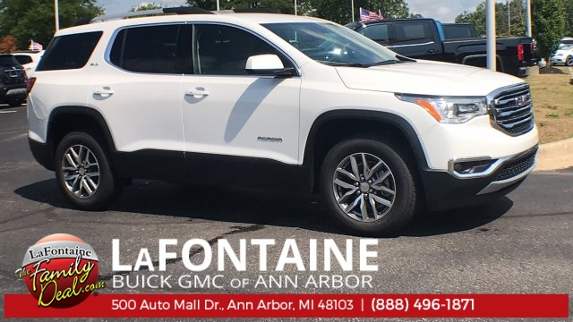 New 2019 GMC Acadia SLE-2 FWD in Highland & Ann Arbor