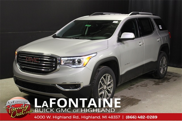 New 2019 GMC Acadia SLE-2 AWD in Highland & Ann Arbor