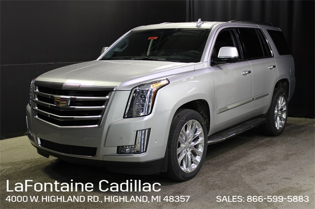 New 2020 Cadillac Escalade Luxury With Navigation & 4WD (Courtesy Transportation Vehicle)