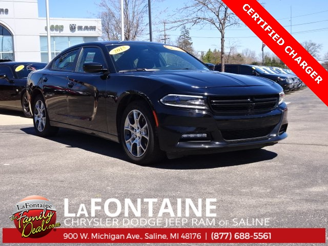 Certified Pre Owned 2015 Dodge Charger Sxt 4d Sedan In 9s71p