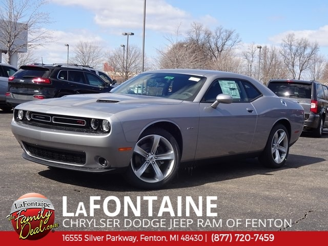 2018 Dodge Challenger >> New 2018 Dodge Challenger R T 2d Coupe In 18u1347 Lafontaine