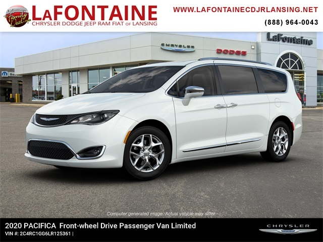 New 2020 Chrysler Pacifica Limited With