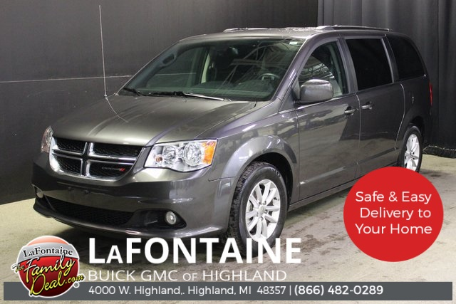 Pre Owned 2019 Dodge Grand Caravan Sxt 4d Passenger Van In 0g1289p Lafontaine Automotive Group