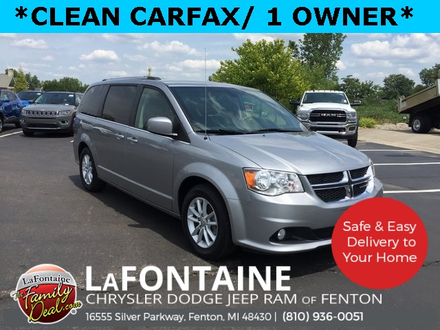 Certified Pre Owned 2019 Dodge Grand Caravan Sxt 4d Passenger Van In 0u5453p Lafontaine Automotive Group