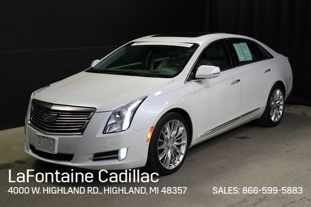 Certified Pre Owned 2016 Cadillac Xts Platinum Awd
