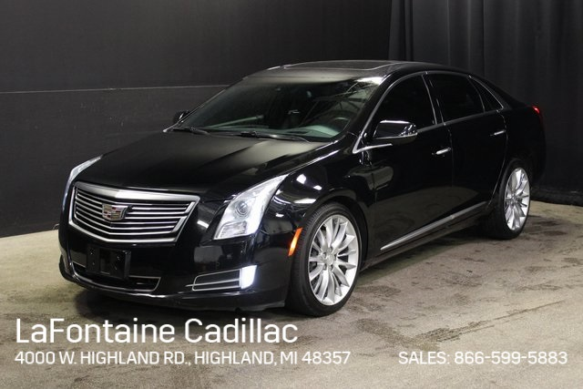 Pre Owned 2016 Cadillac Xts Platinum Vsport Awd