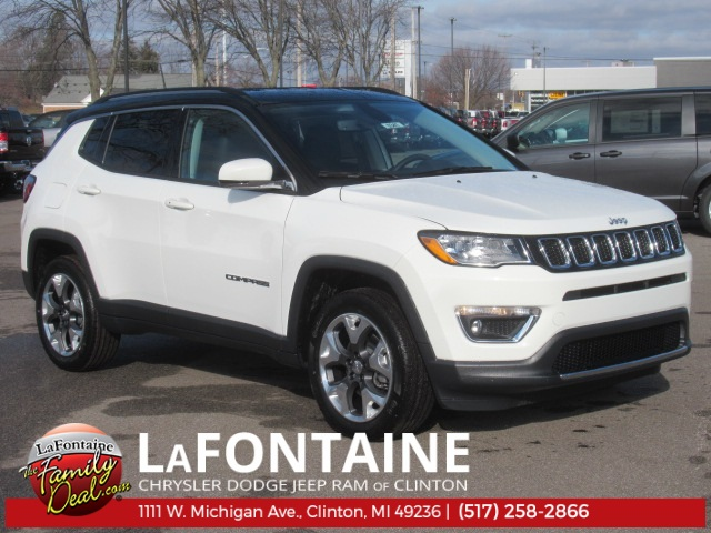 New 2019 Jeep Compass Limited 4WD