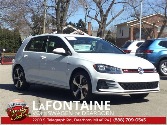 New 2019 Volkswagen Golf GTI 2.0T S FWD 4D Hatchback