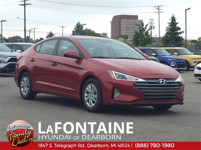 New 2019 Hyundai Elantra SE FWD 4D Sedan