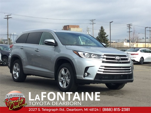 Toyota Highlander Limited >> New 2019 Toyota Highlander Limited Awd