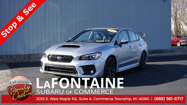 Pre Owned 2018 Subaru Wrx Limited