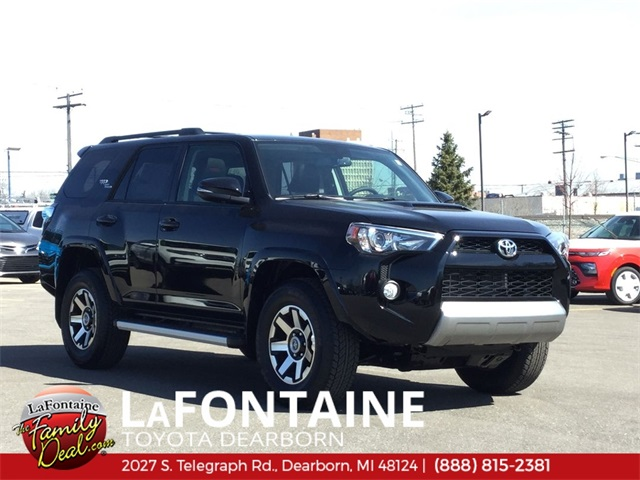 Toyota 4Runner Off Road >> New 2019 Toyota 4runner Trd Off Road Premium 4wd