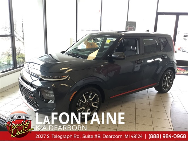 New 2020 Kia Soul Gt Line 4d Hatchback In 20k006 Lafontaine
