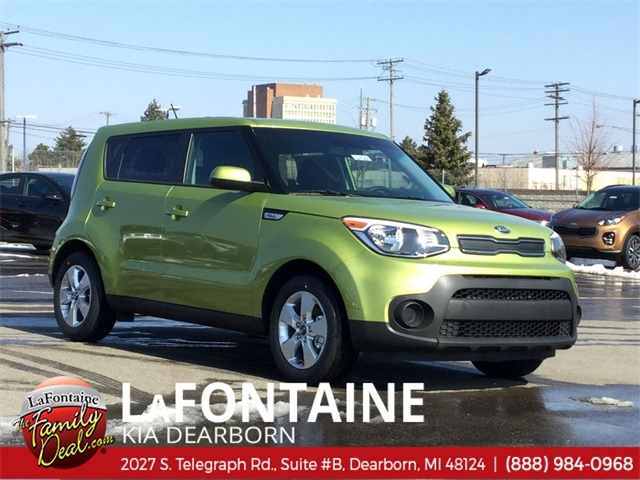 New 2019 Kia Soul Base FWD 4D Hatchback