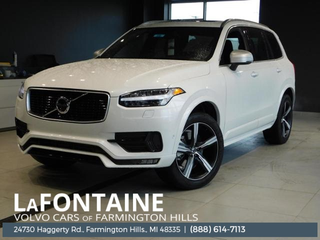 New 2019 Volvo XC90 T6 R-Design With Navigation & AWD