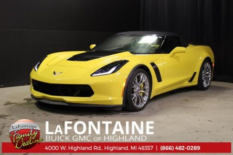 Certified Pre-Owned 2016 Chevrolet Corvette Z06 2LZ