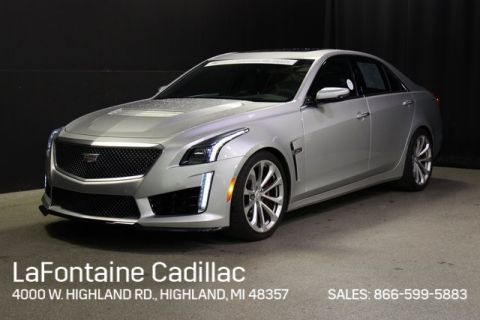 Certified Pre-Owned 2016 Cadillac CTS-V Base