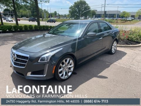 Pre-Owned 2014 Cadillac CTS 2.0L Turbo Performance