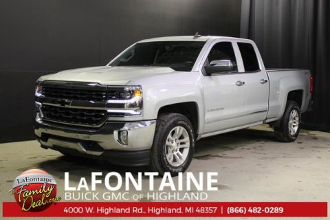 Certified Pre-Owned 2018 Chevrolet Silverado 1500 LTZ 4WD
