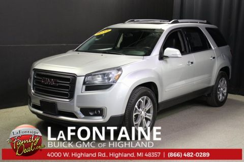 Pre-Owned 2015 GMC Acadia SLT-2