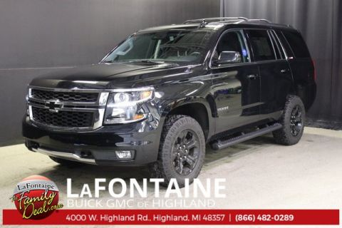 Pre-Owned 2017 Chevrolet Tahoe LT 4WD Z71 MIDNIGHT EDITION