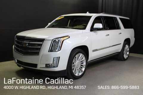 Certified Pre-Owned 2016 Cadillac Escalade ESV Platinum Edition 4WD