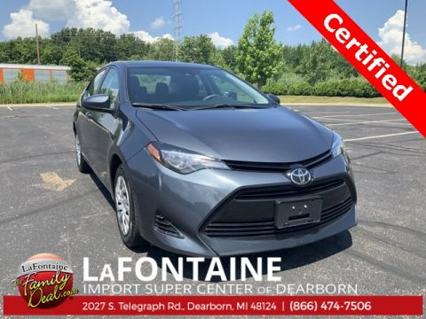 Certified Pre-Owned 2018 Toyota Corolla L