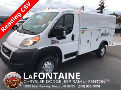 New 2019 Ram ProMaster 3500 Low Roof
