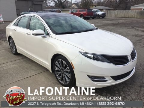 Pre-Owned 2016 Lincoln MKZ Hybrid Black Label