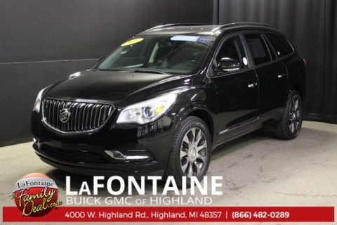 Certified Pre-Owned 2017 Buick Enclave Leather Group